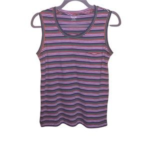 NWOT MADEWELL Striped Tank Top Size X-Small